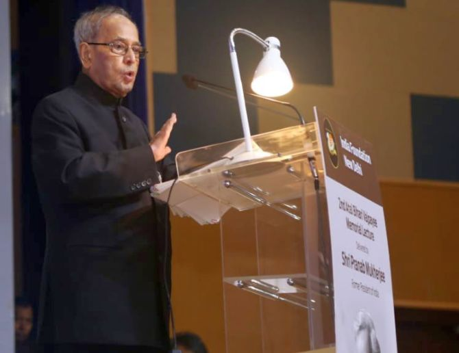 Protests will deepen India's democratic roots: Pranab