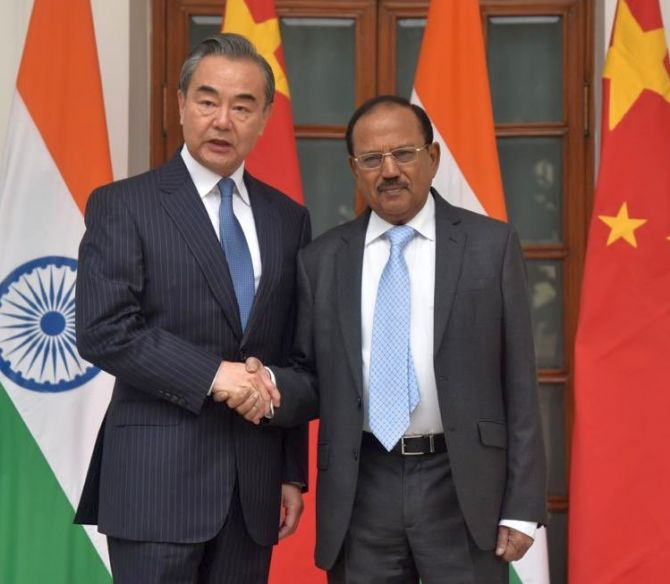China gives details of Wang's conversation with Doval