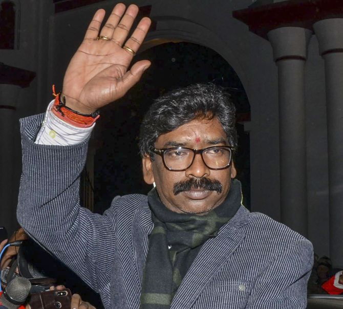 Hemant Soren to take oath as Jharkhand CM on Sunday ...