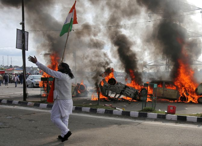 India News - Latest World & Political News - Current News Headlines in India - J & K Guv asks police to take strict action against violent protesters