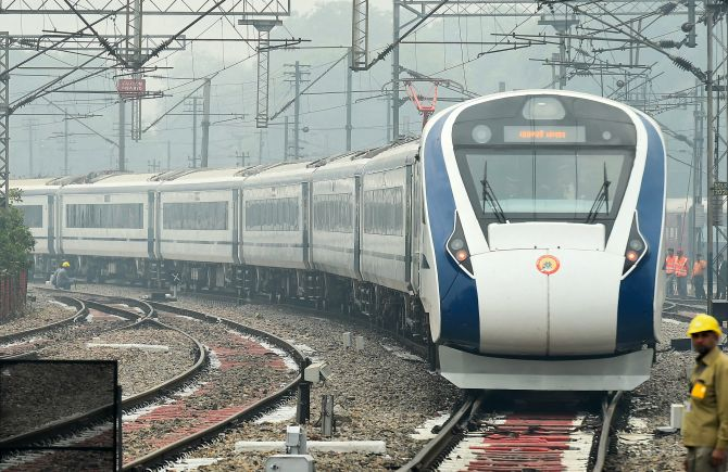 India News - Latest World & Political News - Current News Headlines in India - Day after launch, India's fastest train breaks down