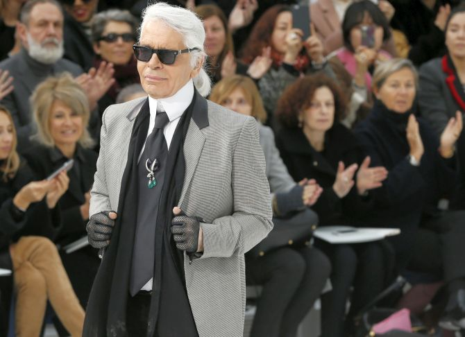 India News - Latest World & Political News - Current News Headlines in India - Legendary Chanel designer Karl Lagerfeld dies at 85