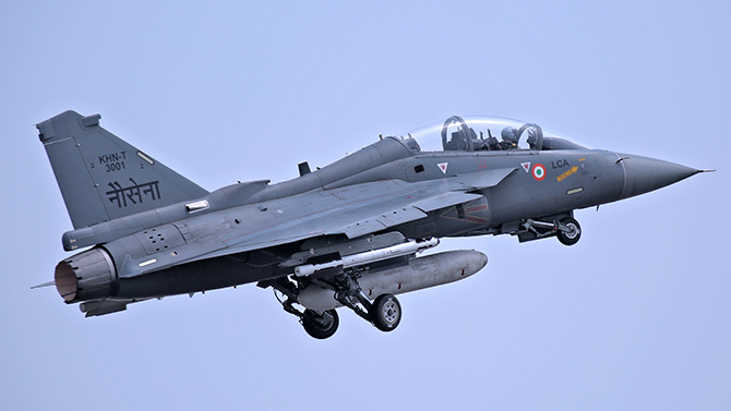RM to fly in Tejas, spend night on Vikramaditya