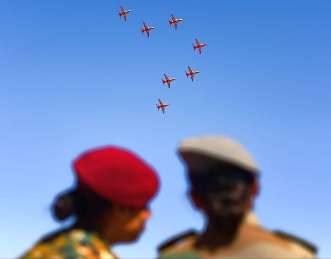 Negative COVID test for aero show must: IAF officer