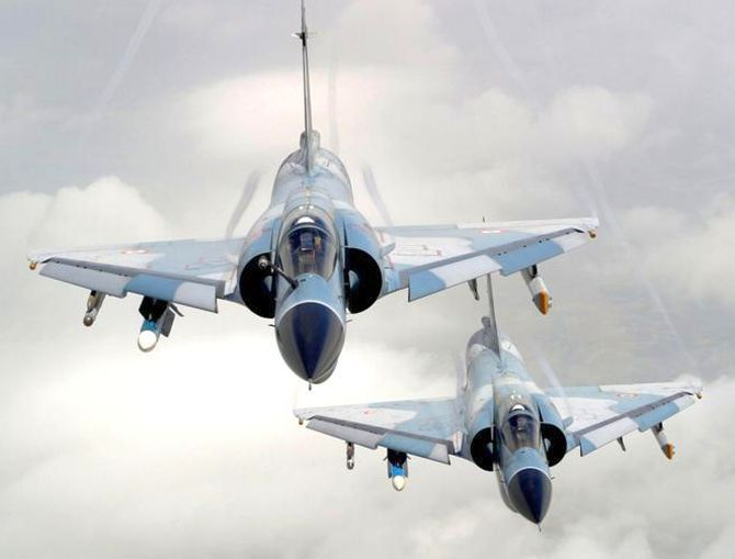 Mirage 2000 fighters
