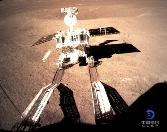 India News - Latest World & Political News - Current News Headlines in India - China's lunar rover creates first 'footprint' on the far side of the moon