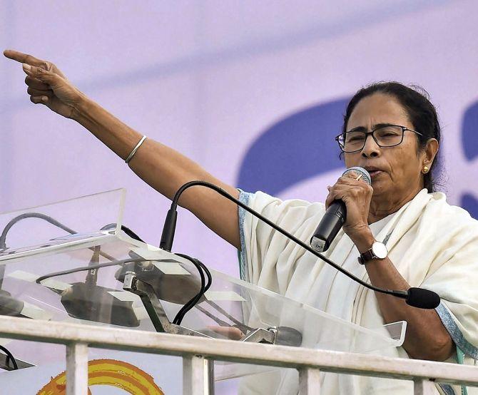 At mega TMC rally, united Oppn vows to oust Modi - Rediff com India News