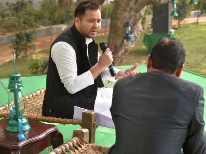India News - Latest World & Political News - Current News Headlines in India - Congress best equipped to lead alliance against BJP: Tejashwi