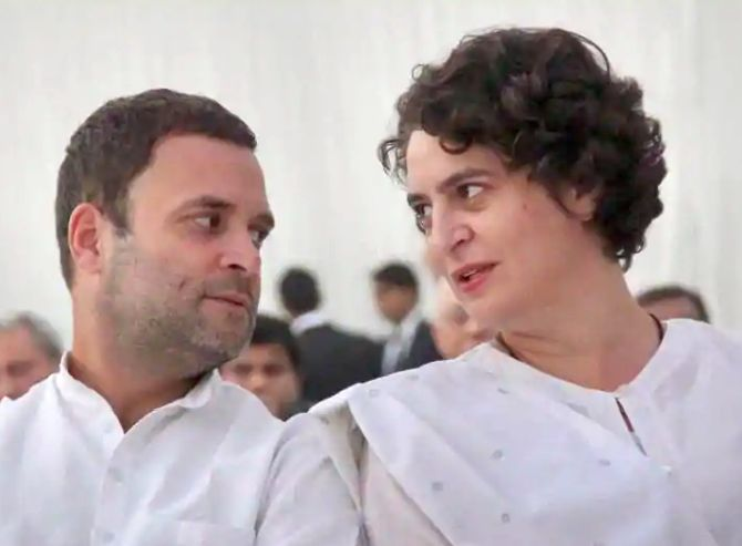 India News - Latest World & Political News - Current News Headlines in India - Rahul Gandhi failed, Priyanka is like a crutch for him: BJP