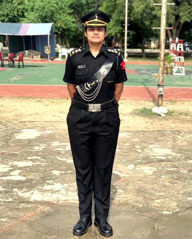 Captain Shikha Surabhi, Indian Army