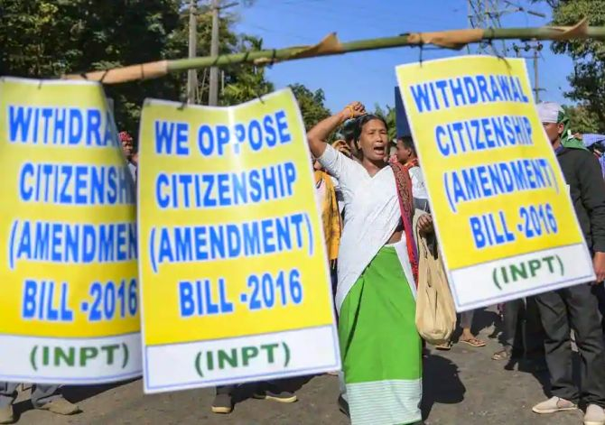 Opposition's plan to fight Citizenship Bill