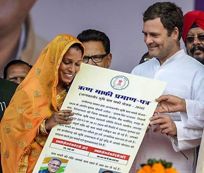 EXPLAINED: Rahul Gandhi's minimum income plan - Rediff.com ...