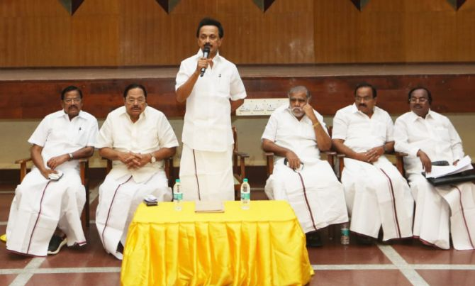 First-time DMK MPs feel left out, look to Stalin for help - Rediff.com  India News
