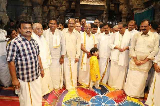 Y V Subba Reddy, the man who presides over the world's richest shrine