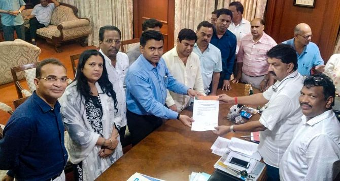 'This move in Goa is to help BJP in Karnataka'