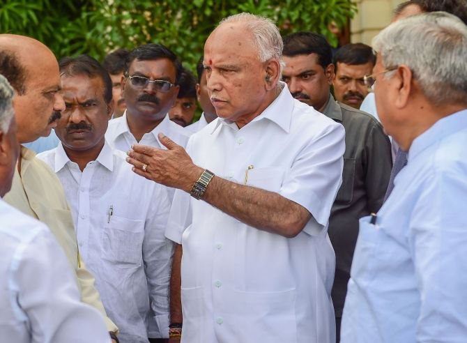 Bypoll results to decide fate of BSY govt today