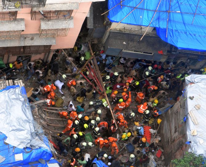 Bldg crash: When a visit to relative proves fatal