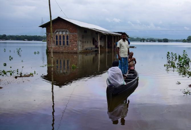 PHOTOS: Floods wreak havoc across North India