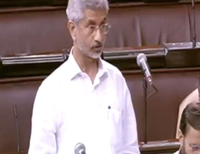 Pak should immediately release Jadhav: Jaishankar