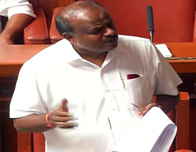 Kumaraswamy moves confidence motion in assembly