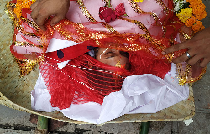 Meenakshi Chaurasia, murdered in cold blood. Photograph: Rajesh Karkera/Rediff.com