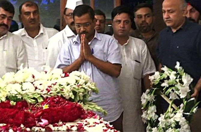 Sheila's demise: Delhi govt declares 2-day mourning