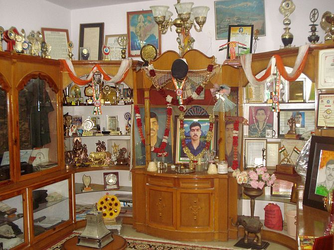 The museum to Captain Kalia in his home