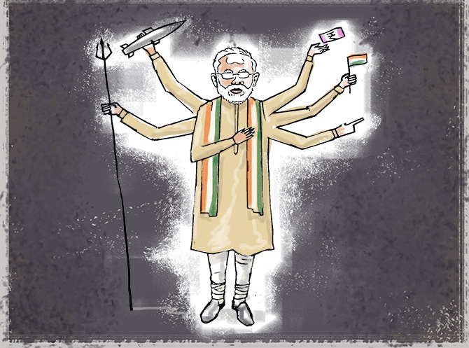 Is Modi really unbeatable?