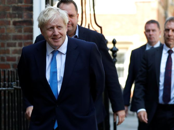 Boris Johnson becomes UK's new PM