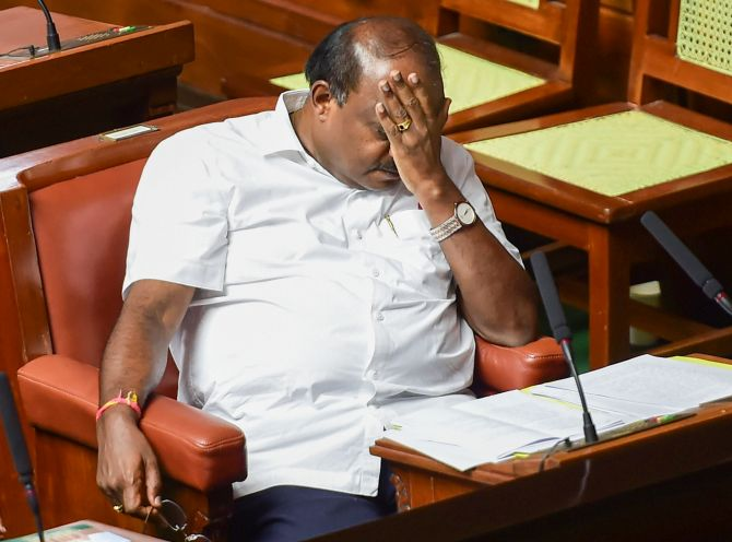 Perceived as kingmaker, HDK's kingship short-lived