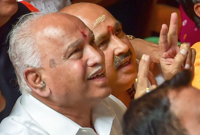 Karnataka Cabinet to be expanded tomorrow: Yediyurappa