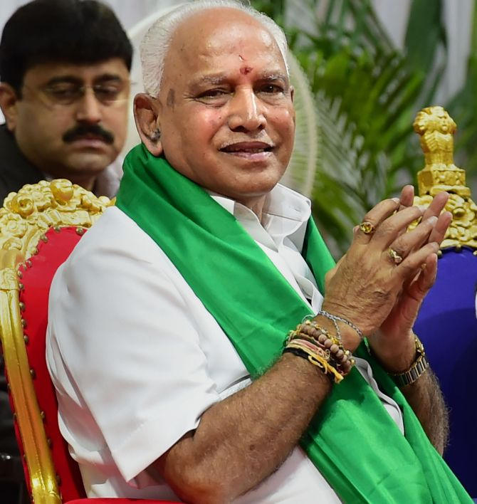 For comeback king BSY, ascent to power was never easy