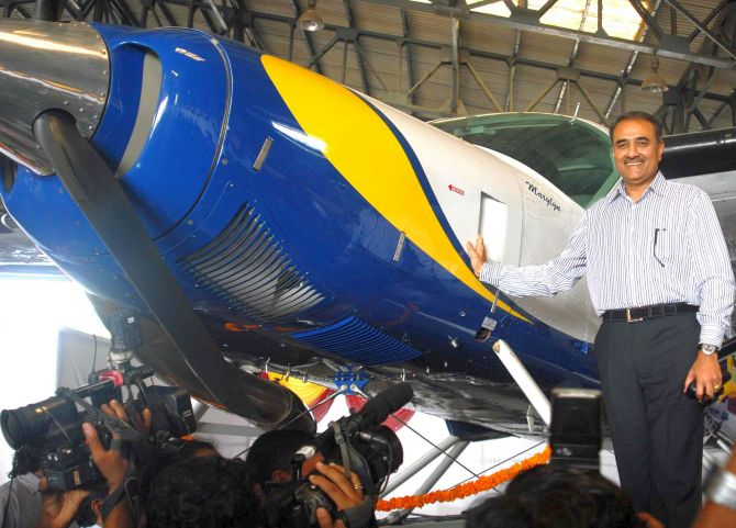 Ex-airline CMD flagged Praful's favour to rivals