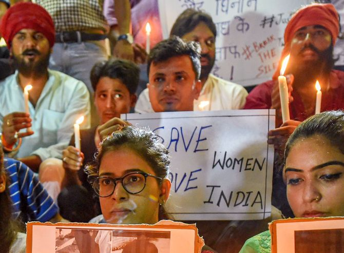 Sadhvi Prachi stopped from visiting Aligarh; protests continue