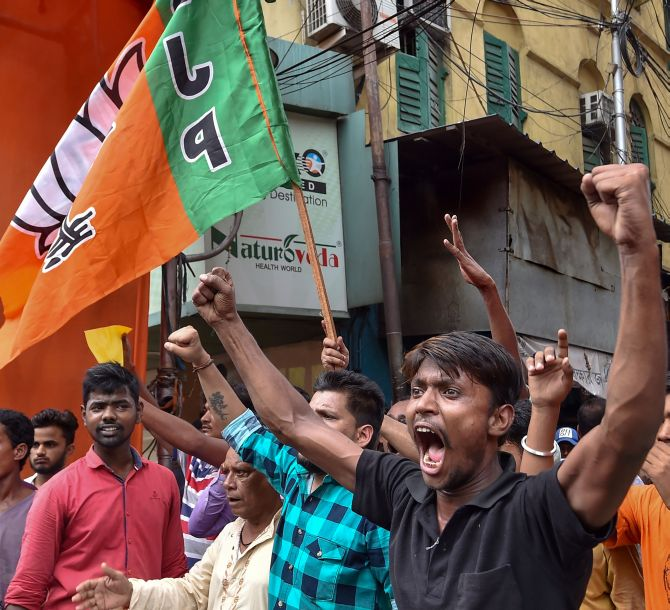 Political storm in Bengal after MLA found hanging