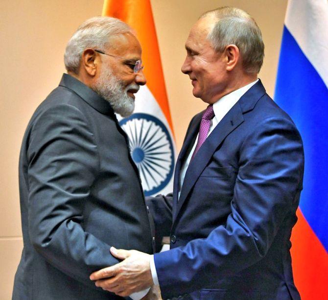Modi, Putin agree to set up '2+2 ministerial talks'