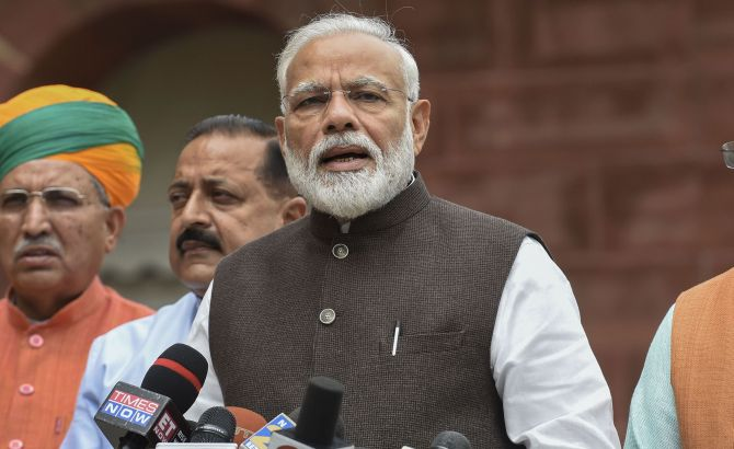 Don't look at numbers: PM to Oppn ahead of LS session