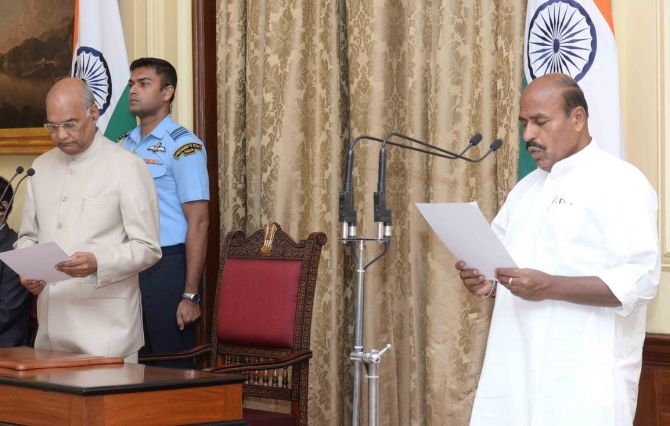 BJP's Virendra Kumar sworn in as pro tem speaker