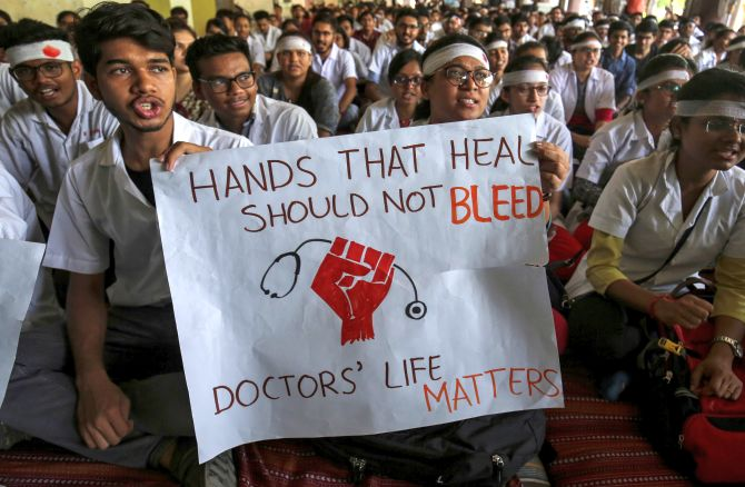PHOTOS: When the country's doctors went on strike