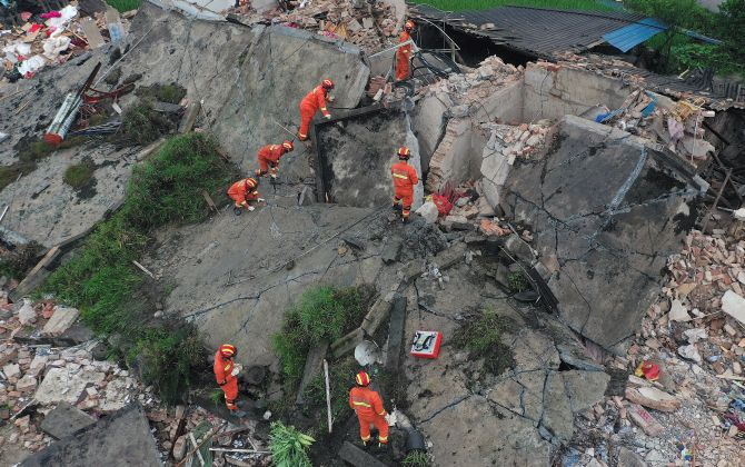 12 killed as string of quakes strike China