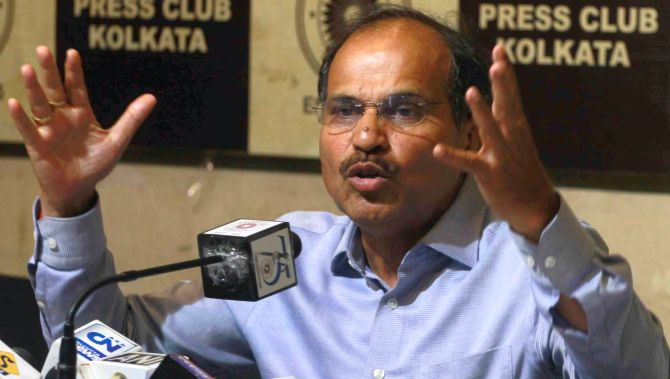 Adhir Ranjan Chowdhury to be Cong leader in LS