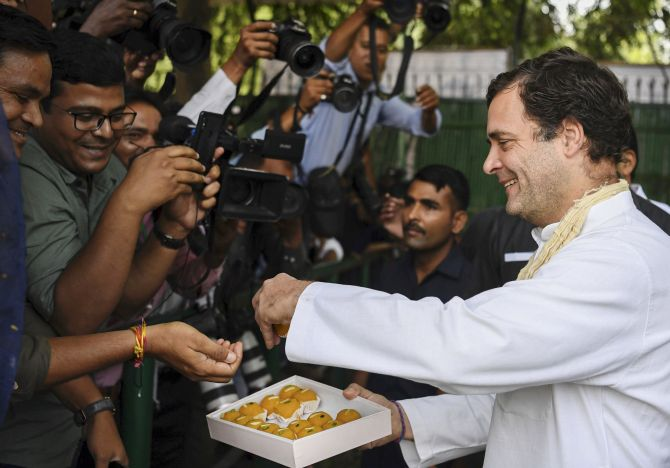 Rahul turns 49; PM, other leaders wish him