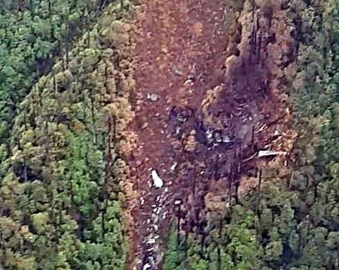 AN-32 crash: 6 bodies, remains of 7 others found