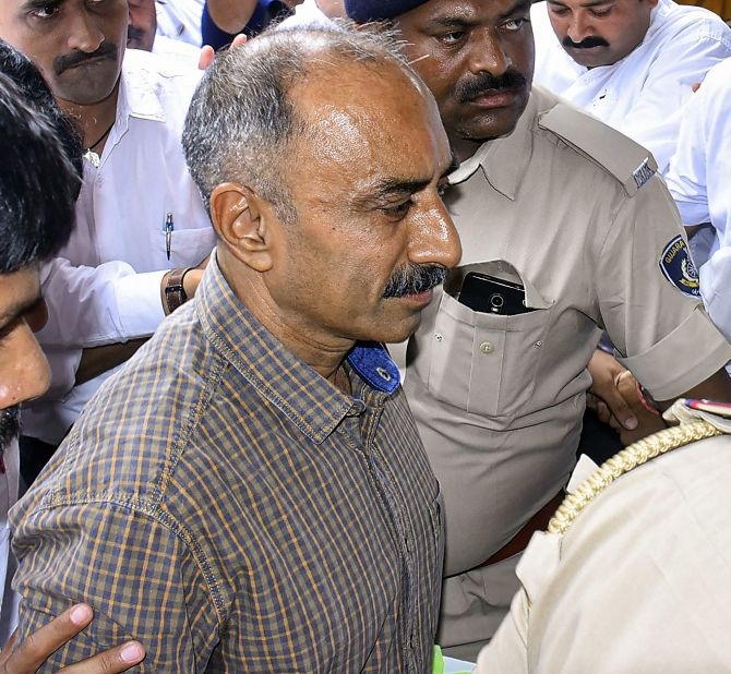 Ex-Gujarat top cop Sanjiv Bhatt gets life in jail