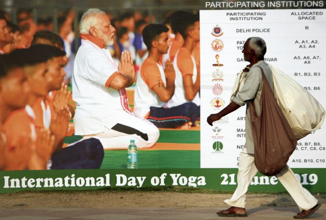 PM to lead Intl Yoga day celebration at Ranchi