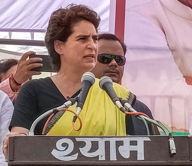 Priyanka Gandhi takes a dig at 'Howdy Modi' event