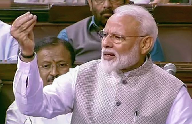 In RS, PM says he's pained by Jharkhand mob killing