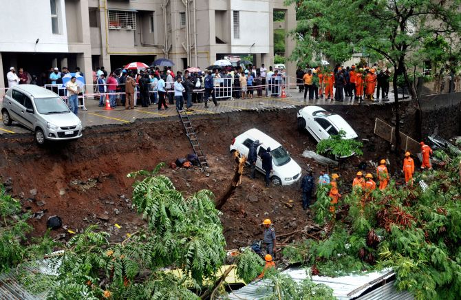 Pune wall collapse: Residents say builder was warned