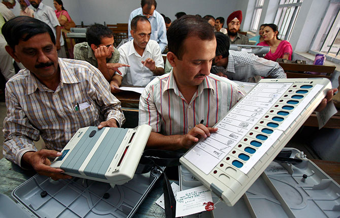 Cong leaders question EVMs again post Bihar trends