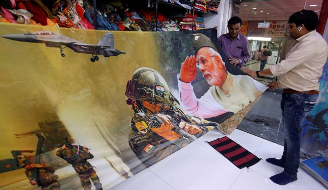 Image result for pulwama, abhinandan air strike sarees from surat